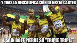 Enlace a ÚLTIMA HORA: Usain Bolt se queda sin un oro olímpico