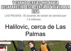 Enlace a Halilovic a punto de volver a la liga