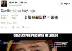 Enlace a El gafe de Álvaro Ojeda llegando a niveles del legendario Roncero