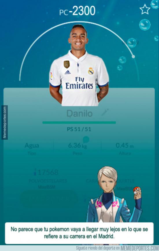 942783 - El futuro de Danilo en el Real Madrid explicado en Pokémon Go