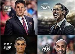 Enlace a Así se verán los jugadores actuales cuando sean entrenadores en un futuro
