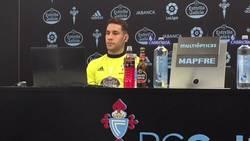 Enlace a Vídeo: La brutal reacción de Hugo Mallo y el vestuario del Celta al tocarles el Alavés en Copa