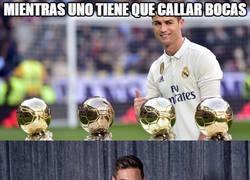 Enlace a La gran diferencia entre Messi y Cristiano