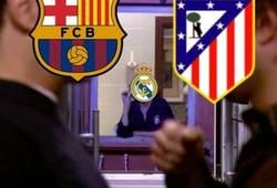 Enlace a Madridistas viendo la semifinal entre Barça y Atlético