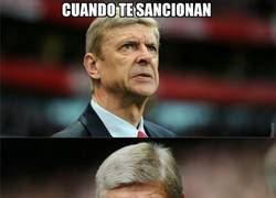 Enlace a Wenger no podría estar mejor