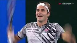 Enlace a La felicidad absoluta de Federer al ganar su 18º Grand Slam