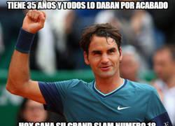 Enlace a Simplemente su Majestad Federer