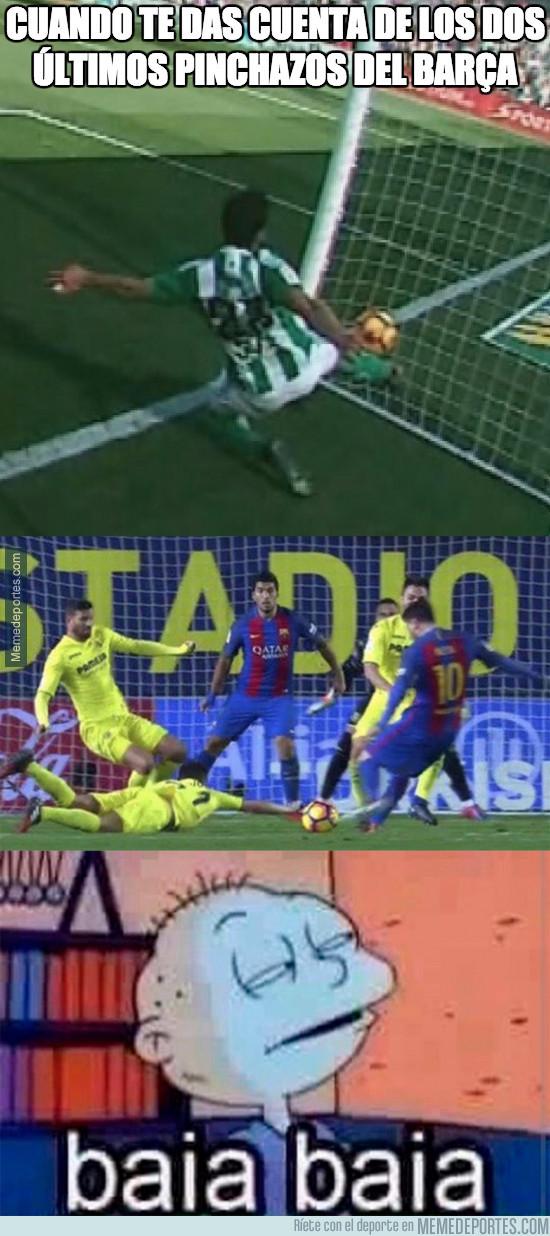 943686 - El Barça tiene motivos para quejarse...