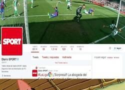 Enlace a Ojo al encabezado del perfil de Twitter de Sport
