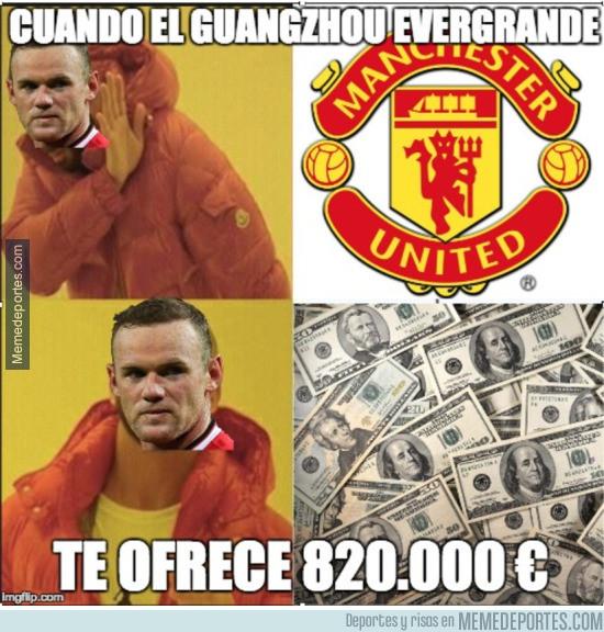 944203 - La tentativa oferta del Guangzhou Evergrande a Rooney