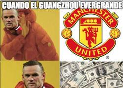 Enlace a La tentativa oferta del Guangzhou Evergrande a Rooney