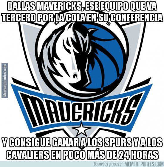 944503 - La gran lógica del Dallas Mavericks