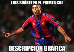 Enlace a Suárez se vistió de fenómeno en el primer gol