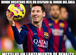 Enlace a ¡ESPECTACULAR MESSI!
