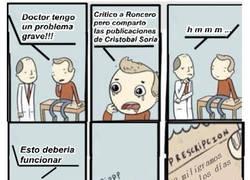 Enlace a Critico a Roncero y comparto las publicaciones de Soria