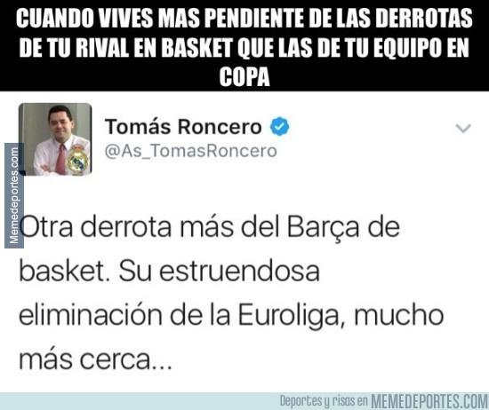 944923 - En vista del que el Madrid no juega Copa, a ver Basket ¿verdad Tomás?