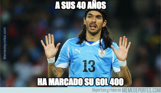 944968 - A sus 40 años, ha marcado su gol 400