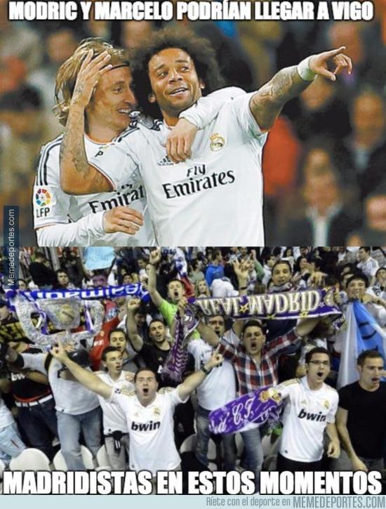 944987 - Modric y Marcelo podrían llegar a Vigo