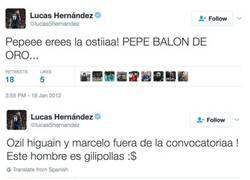 Enlace a Los tweets que demuestran que el atlético Lucas Hernández es merengue y anti-atlético