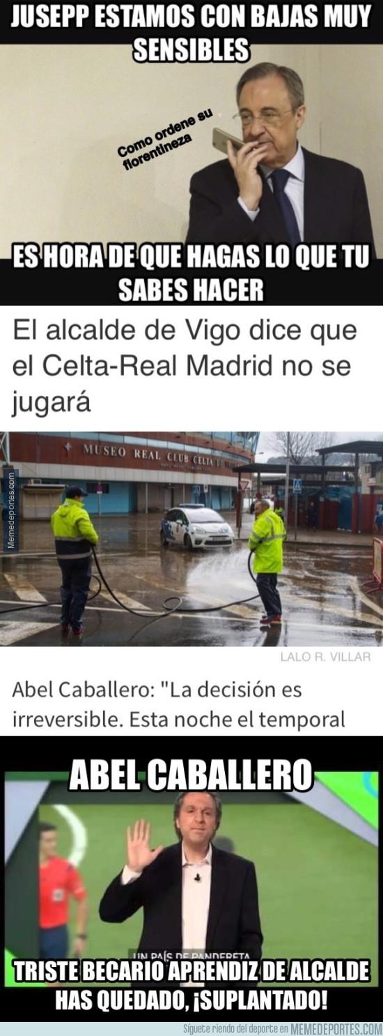 945147 - Abel Caballero, alcalde de Vigo: has quedado ¡SUPLANTADO!