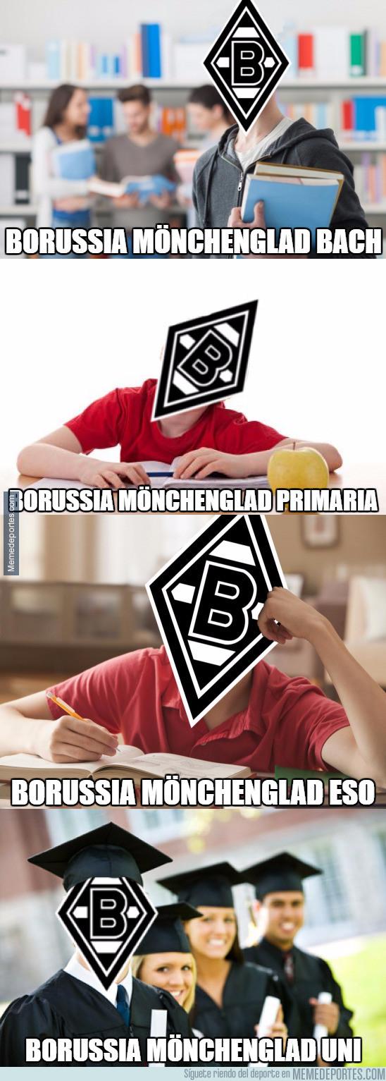 945348 - La evolución del Borussia Mönchengladbach
