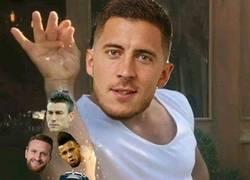 Enlace a Hazard contra el Arsenal