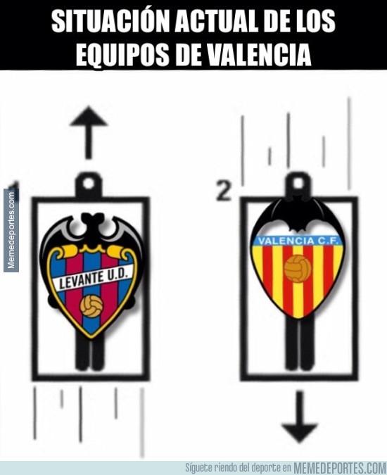 945394 - Así estan actualmente los equipos de Valencia
