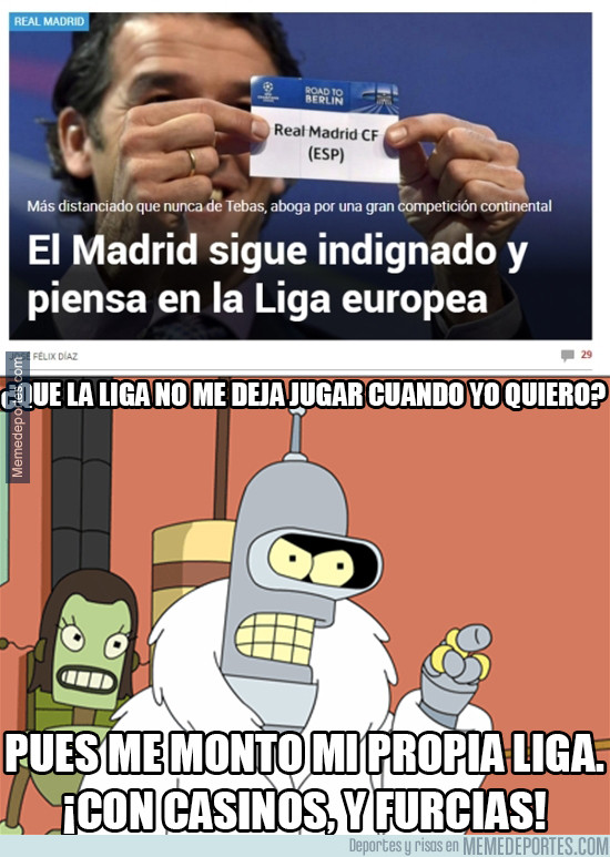 945535 - Bender y Real Madrid, almas gemelas