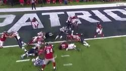 Enlace a GIF: ¡El TOUCHDOWN con el que los Patriots igualan la Super Bowl a 57 segundos del final!