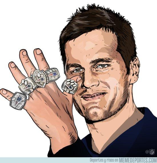 945778 - Brady, el verdadero señor de los anillos
