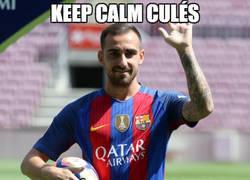 Enlace a Todas las esperanzas del Barça puestas en él
