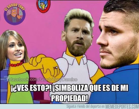 946422 - Messi deja las cosas claras ante la posible convocatoria de Icardi en Argentina