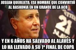 Enlace a Josean Querejeta, uno de los mejores directivos del deportes