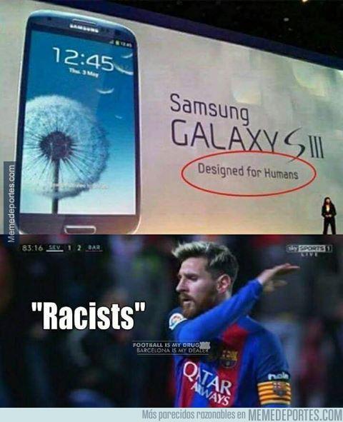 946859 - Samsung y su racismo hacia Messi