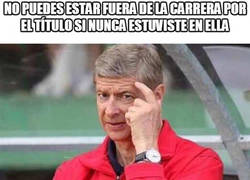 Enlace a Wenger lo tiene claro