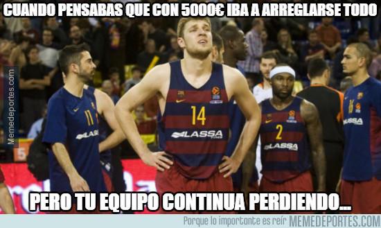 946930 - El desastre del Barça de baloncesto con las multas