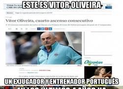 Enlace a Vitor Oliveira y Lotina, amigos de toda la vida