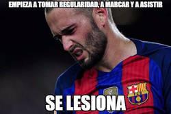 Enlace a La mala suerte de Aleix Vidal...