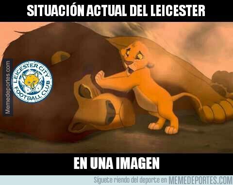 947458 - Ánimo Leicester... :(