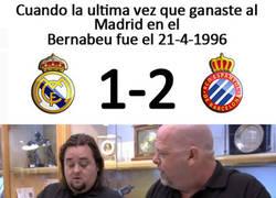 Enlace a Cuando llevas 21 años perdiendo contra el Madrid en su estadio