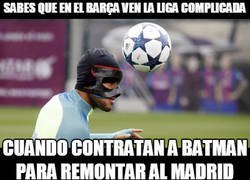 Enlace a Batman se une al Barça