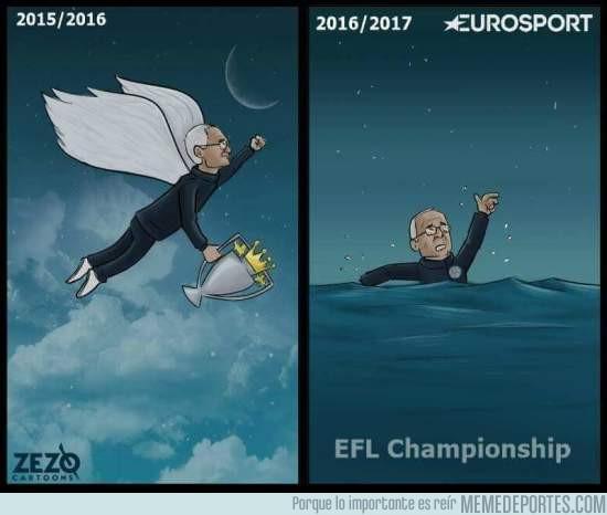 947642 - Resumen de las dos últimas temporada de Claudio Ranieri con el Leicester