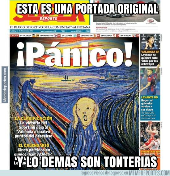 947827 - Pánico en el Valencia Portada de Super Deporte