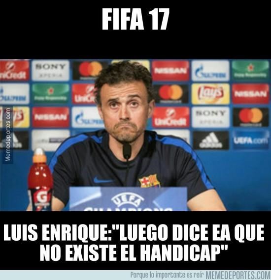 948396 - Luis Enrique habla sobre el handicap