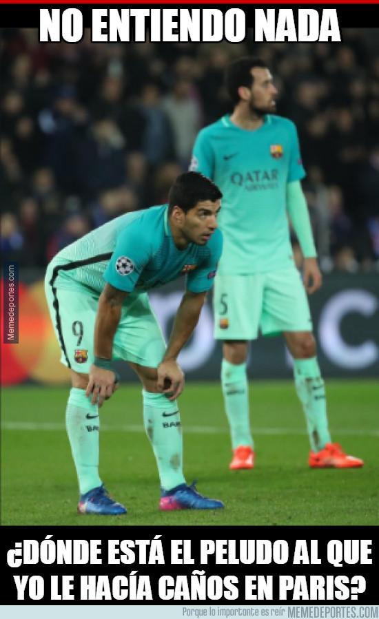 948420 - Suárez echa de menos a David Luiz