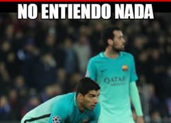 Enlace a Suárez echa de menos a David Luiz