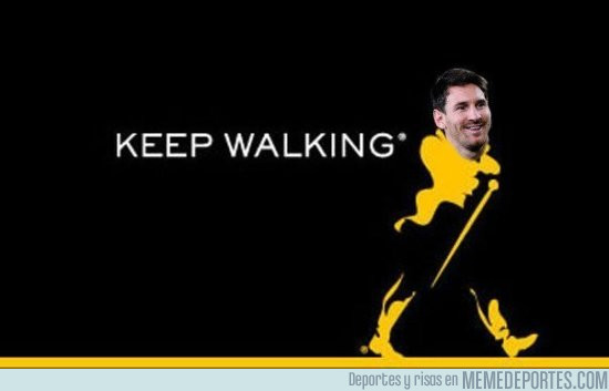 948532 - Messi nuevo patrocinador de Johnnie Walker