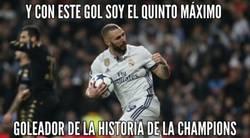 Enlace a Por detras de Van Nistenrooy, Raul, Messi y Cristiano