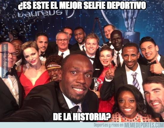 948947 - ¿El mejor selfie deportivo de la historia?
