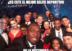 Enlace a El mejor selfie de la historia del deporte habido y por haber
